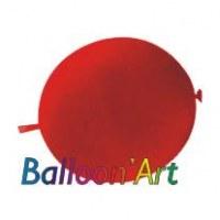 NOUVEAU 50 ballons Rouge 30 cm nacrés pour guirlande