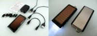 Chargeur solaire multifonctionnel et lumière de LED
