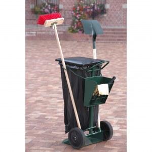 Chariot pour sac poubelle