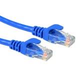 Câble de raccordement Ethernet / réseau câble standard UTP bleu 10M