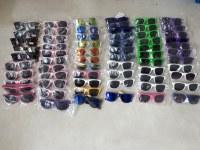Lot de 65 paires de lunette de soleil