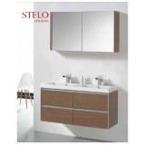 Armoire MIroir de salle de bain Stelo 120 Réf : ARM – STELO1200 Ottofond