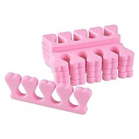 100 Écarteurs séparateur d'orteils en mousse (50paquets)