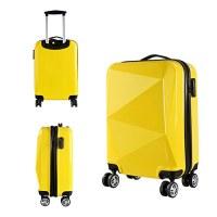Valise rigide 68cm jaune ultra leger 4 roues multidirectionnelles brillant fashion PART...