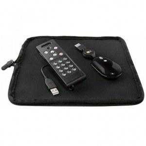 Ensemble multimédia de l'ordinateur - téléphone internet, souris USB, une sacoche de...
