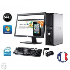 Ordinateur dell optiplex 380 complet