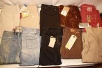 Lot jeans femme multimarque a prix discount