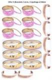 Bracelet Cuivre Coquillage et Metal