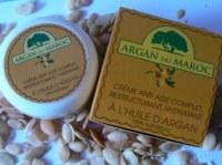 Lot de Crème Naturelle à l'huile d'argan