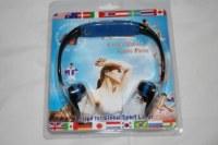 Casque sport MP3 intégré 32gb avec package