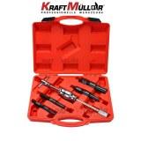 KRAFTMULLER,5 PC Kit d'extracteur de roulement intérieur aveugle