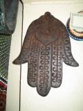 Main de fatma en bois
