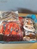 Lot accessoires de fête, bijoux, montres, stickers, bretelles, cravates.....