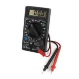 Multimètre numérique HDEO AC/DC Mesure tension/courant/capacité/résistance DT830B