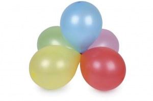 Lot de 100 Ballons de Baudruche Rond