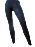 Legging polaire bleu