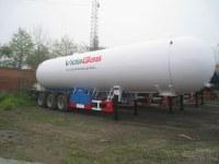 Camions tracteurs pour citernes gpl de 54.9m3