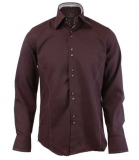 Chemise fashion slim choco