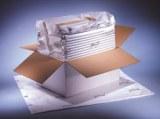 Boite isotherme gonflable pour transport de produits médicaux