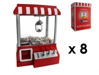 Lot Machines a pince distributeur de bonbons