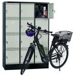 Armoire casiers alimentés E-Bike