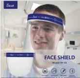 Visière de protection Pro transparente