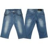 Bermuda jeans clouté 2/6 ans