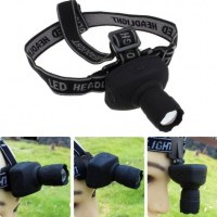 Lampe Frontale LED CREE projecteur Zoomable AAA TK17