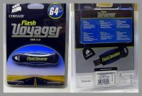 LOT 4 CLE USB CORSAIR VOYAGER 64 GB