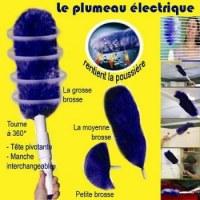 Nouveau : le plumeau electrique, nettoyer sans effort