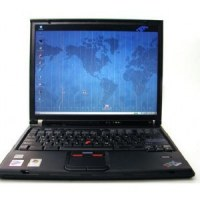 Lot de 5x IBM Lenovo ThinkPad T400 - Windows 7 - Webcam - C2D 4GB 160GB - 14.1'' - Ordi...