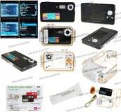 Caméscopes numérique étanche sous marine TFT LCD  12MP