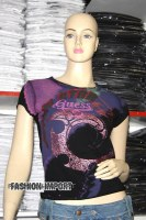 TEE SHIRT GUESS FEMME COLLECTION 2007-2008