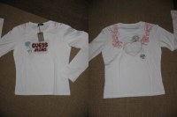 GUESS Tshirt Manches longues Femme