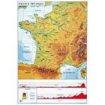 Carte de France pédagogique