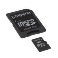 Carte Memoire kingston 1GB micro sd/sd adaptateur