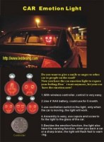 Led Emotion pour voiture avec commande wirless