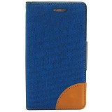 LOT 5400 ETUIS FOLIO DENIM POUR PORTABLES SAMSUNG, IPHONE,...