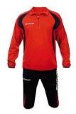 Jogging d'entrainement de foot