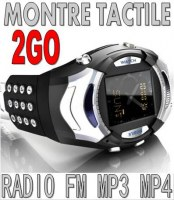 Montre telephone Tactile Radio Camera 2GO