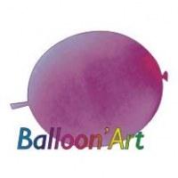 NOUVEAU 50 ballons Violet 30 cm nacrés pour guirlande