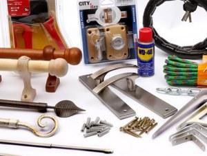Lot de quincaillerie et sécurité (Verrous, serrures, cylindre de porte, cadenas, antivo...)
