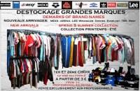 DESTOCKAGE TEXTILE DE GRANDES MARQUES