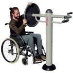 Module fitness PMR Disque et pédalier bras