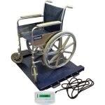 Plateforme de pesage fauteuil roulant