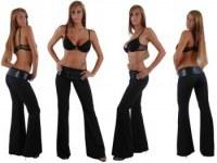 Pants with Belt noir avec ceinture