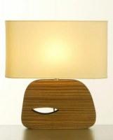 LAMPE EN BOIS STYLE ANNEES 50