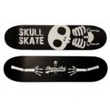 Etagère skateboard murale - skull - décoration murale skate art