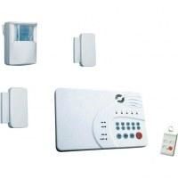 Lot Systèmes d'alarme sans fil 5 zones