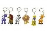 Lot de 6 Porte-clés «Safari»